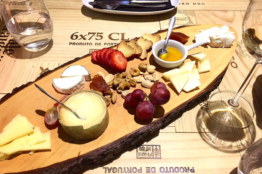 Wine bar snacks, Lisbon, Portugal