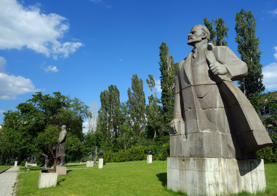 Museum of Socialist Art sculpture garden, Sofia, Bulgaria