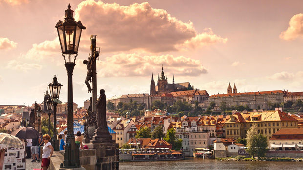 Charles Bridge, Little Quarter, and Castle Quarter, Prague, Czech Republic