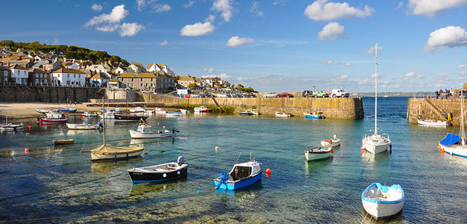 Harbor, Mousehole, England