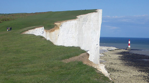 Beachy Head, near Brighton, England