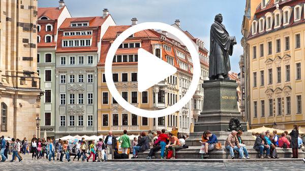 Map Of Germany Showing Dresden.Berlin Video Rick Steves Europe