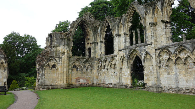 Abbey of St. Mary, York, England