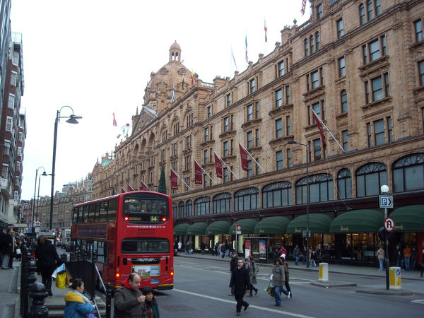 Harrods department store, London, England