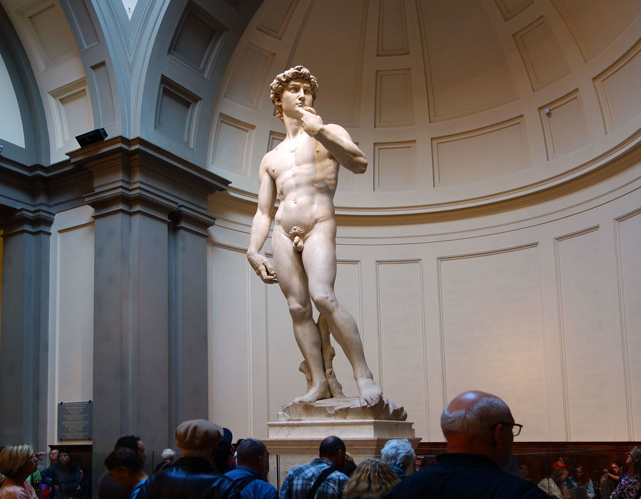 'David' (Michelangelo), Accademia Gallery, Florence, Italy