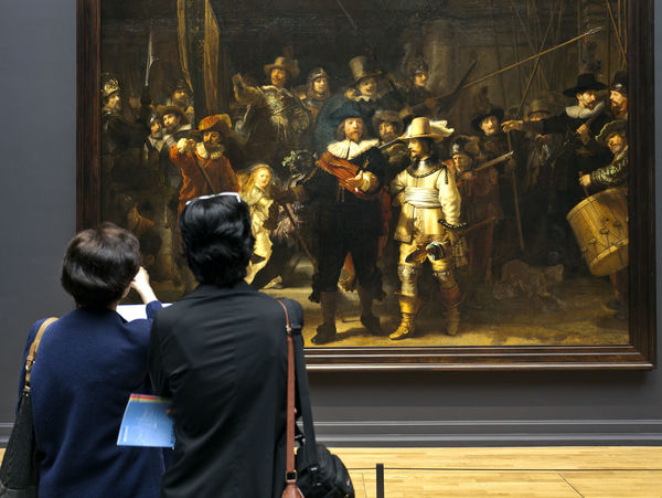 'The Night Watch' (Rembrandt), Rijksmuseum, Amsterdam, Netherlands
