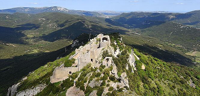 Château Peyrepertuse, Languedoc-Roussillon, France