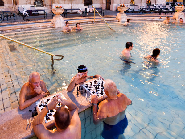 Széchenyi Baths, Budapest, Hungary