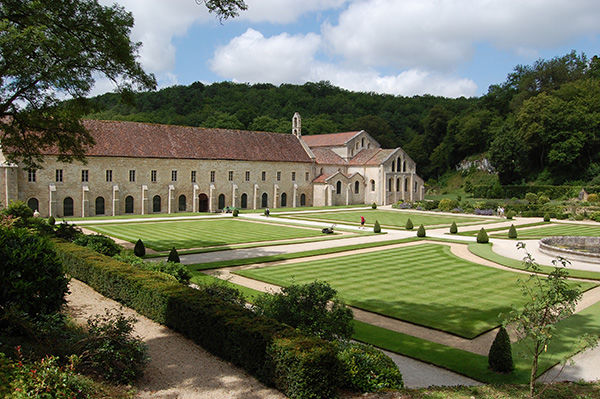 Abbey of Fontenay, Marmagne (Burgundy), France