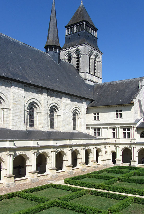 Abbaye Royale de Fontevraud, Loire Valley, France