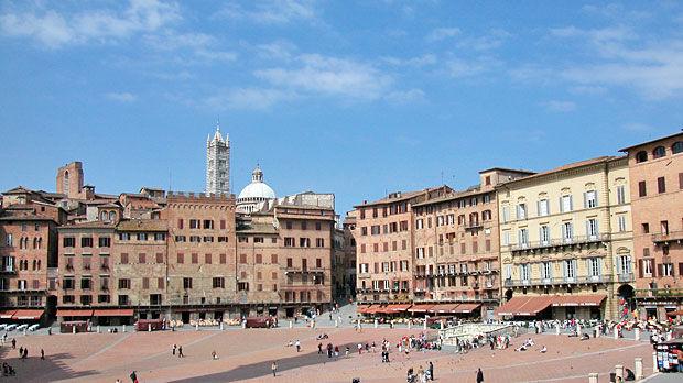 Il Campo, Siena, Italy