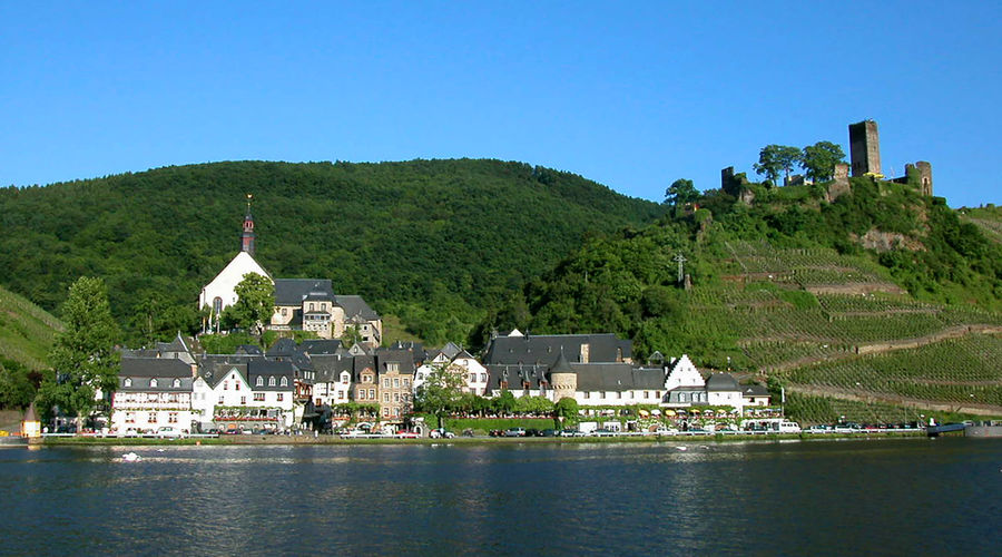 Beilstein and Mosel River, Germany