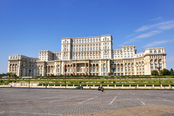 Parliament building, Bucharest, Romania