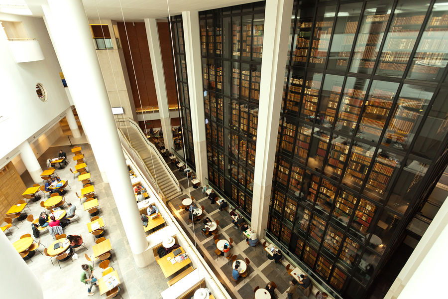 British Library, London, England