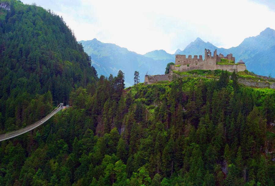 Ehrenburg Castle ruins, Reutte, Austria