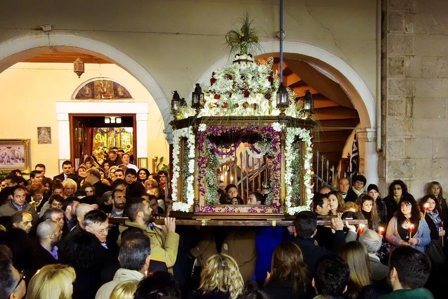 Easter procession, Nafplio, Greece
