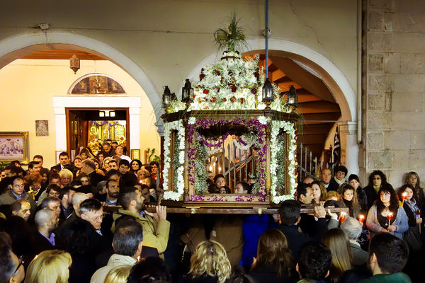 Easter procession, Nafplio, Greece