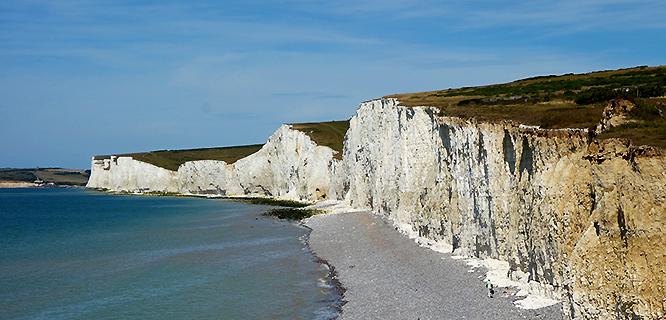 Beachy Head, near Brighton, England