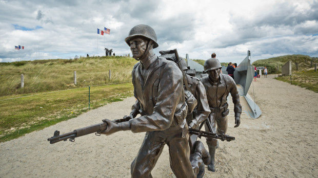 Higgins Boat Monument, Utah Beach, France