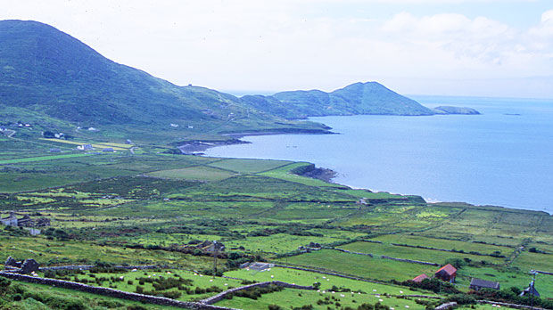 Iveragh Peninsula as seen from the Ring of Kerry, Ireland