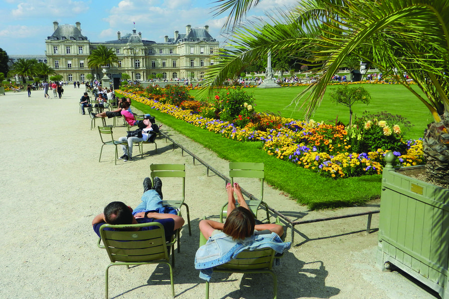 Luxembourg Garden, Paris, France