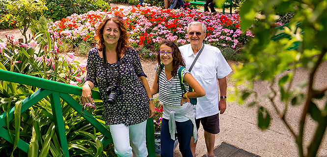Monet's gardens, Giverny, France
