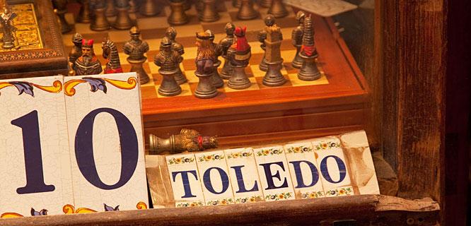 Shop in Toledo, Spain