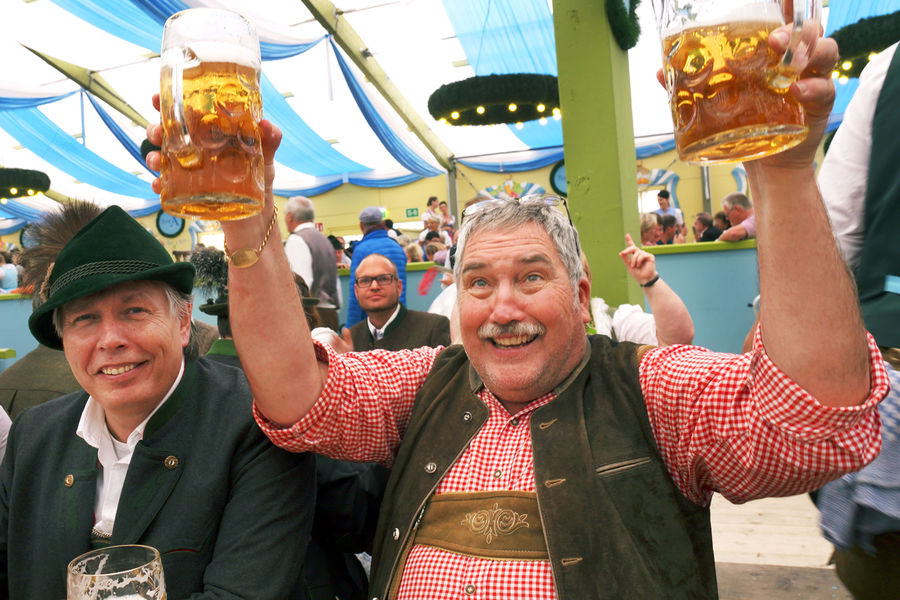 Ochsenbraterei tent at Oktoberfest, Munich, Germany