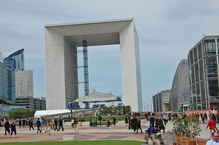 La Grande Arche de La Défense, Paris, France