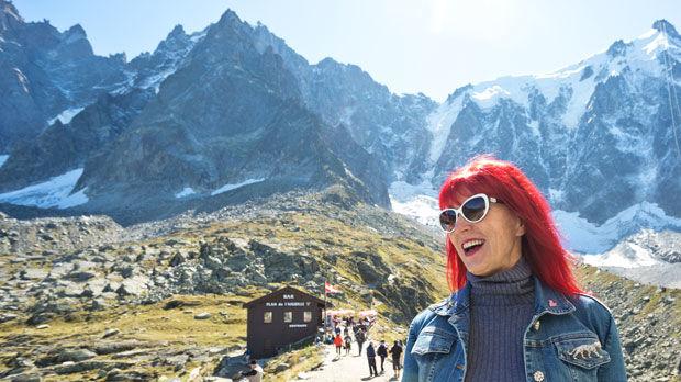 Hiking near Chamonix, France