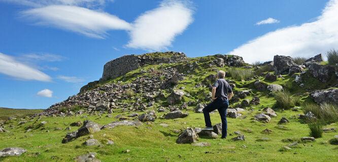 Dun Beag broch, Isle of Skye, Scotland