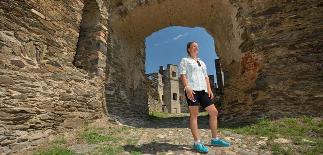 Exploring Rheinfels Castle, St. Goar, Germany