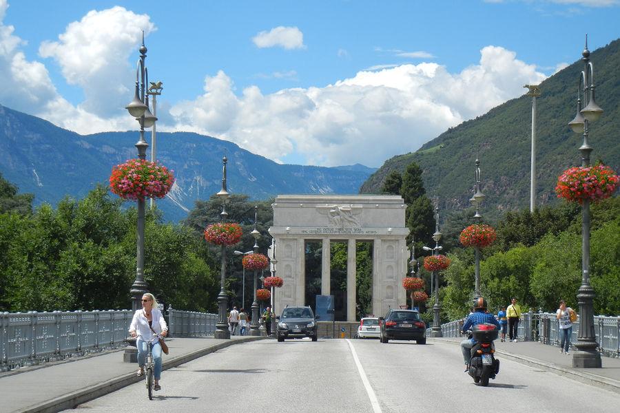 Victory Monument in Nuova Bolzano, Bolzano, Italy