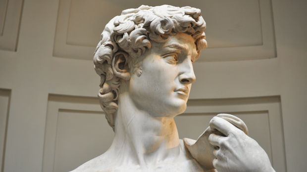 'David' (Michelangelo), Uffizi Gallery, Florence, Italy