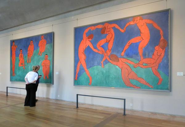 Henri Matisse paintings on display at the Hermitage Museum, St. Petersburg, Russia
