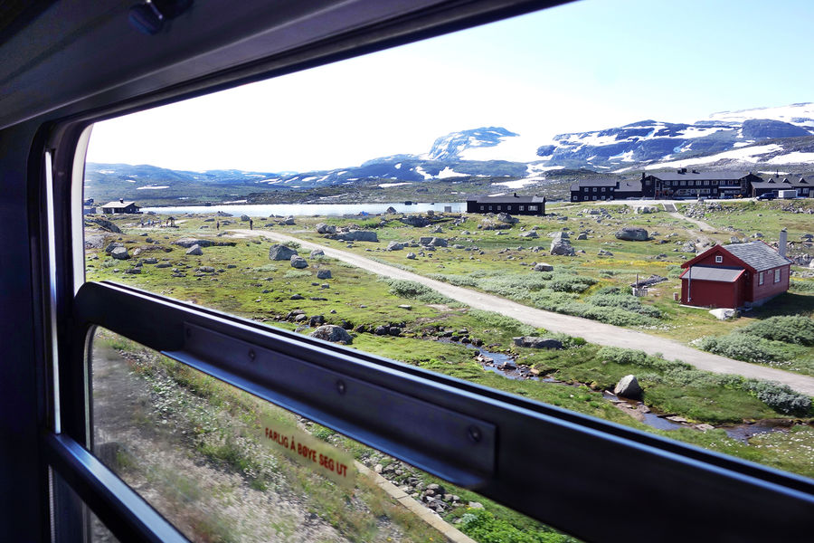 View from the train between Oslo and Myrdal, Norway