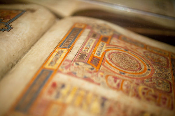 Book of Kells, Trinity College, Dublin, Ireland