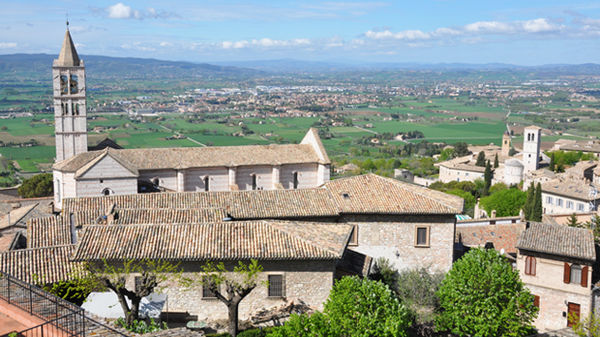Basilica of St. Clare, Assisi, Italy
