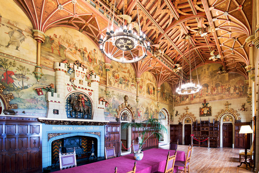 Banqueting Hall, Cardiff Castle, Cardiff, Wales