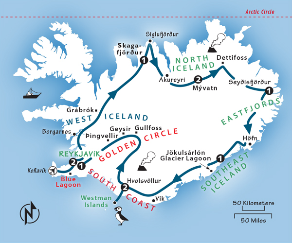 Iceland Itinerary: Where to Go in Iceland by Rick Steves on map of gibraltar attractions, map of nassau bahamas attractions, map of ireland attractions, map of germany attractions, map of italy attractions, map of macau attractions, map of oslo attractions, map of sicily attractions, map of egypt attractions, map of dubai attractions, map of mexico attractions, map of helsinki attractions, map of west coast attractions, map of france attractions, map of brooklyn attractions, map of grand cayman islands attractions, map of hong kong attractions, map of puerto rico attractions, map of western united states attractions, map of japan attractions,