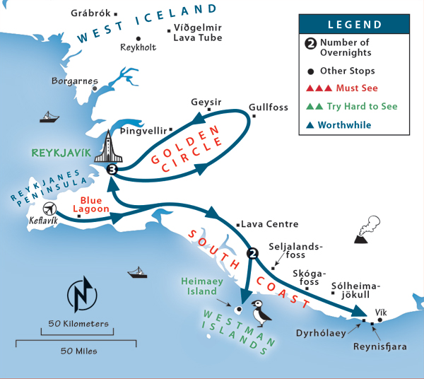 Iceland Itinerary: Where to Go in Iceland by Rick Steves on iceland travel itinerary, iceland in 10 days itinerary, road trip itinerary,