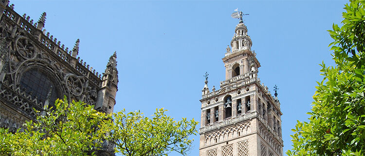 Giradla bell tower, Sevilla Cathedral, Sevilla, Spain
