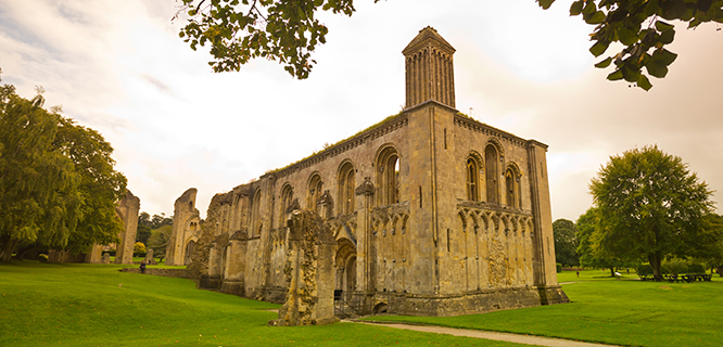 Glastonbury Abbey, Glastonbury, England