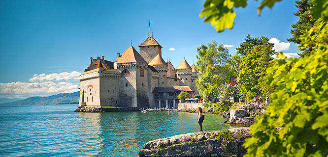 Château de Chillon, Montreux, Switzerland