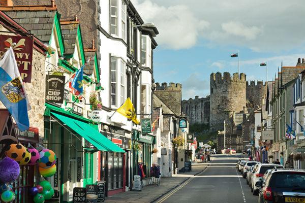 Castle Street, Conwy, Wales