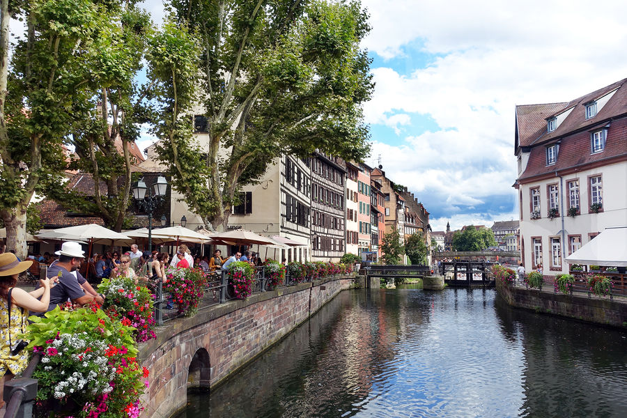 Petite France quarter, Strasbourg, France
