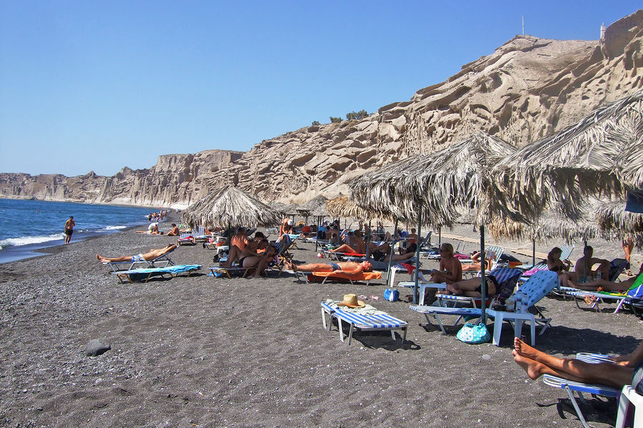 Vlychada beach, Santorini, Greece