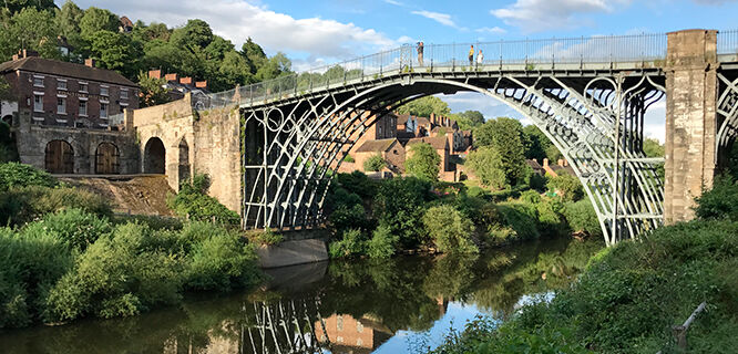 Iron Bridge, Ironbridge Gorge, England