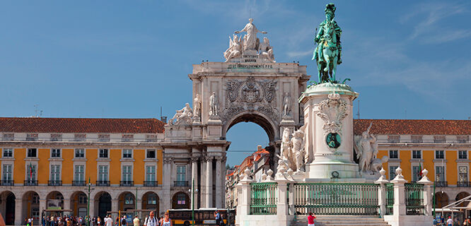 Praça do Comercio, Lisbon, Portugal