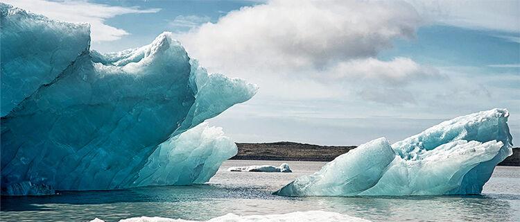 Fjallsárlón glacial lagoon, Iceland